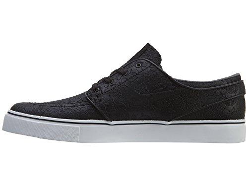 Nike Zoom Stefan Janoski Elite Mens Scarpe Da Skateboard Nero / Bianco / Nero
