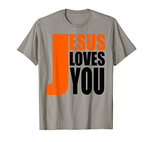Christerest: Jesus Loves You Christian Evangelism T-Shirt