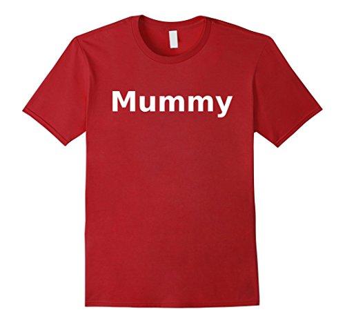 Mens Mummy T-Shirt. Board Game Role Playing LARP Halloween RPG Medium (Medium Cranberry)