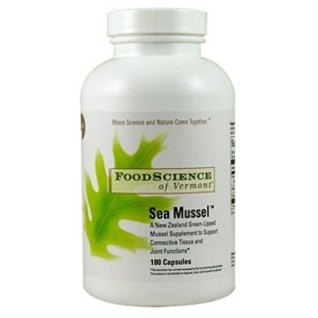 FoodScience of Vermont Sea Mussel Dietary Supplement Capsules - 3PC