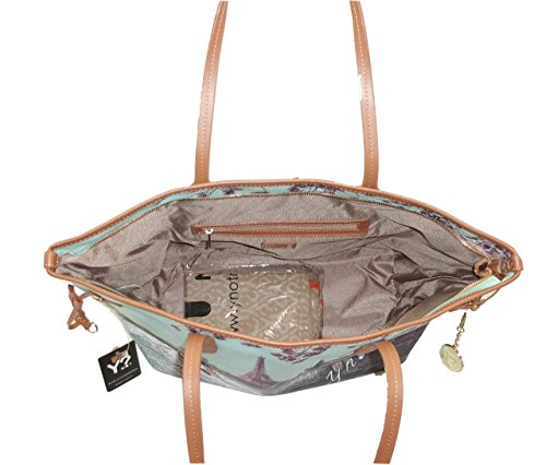 BORSA YNOT H356 NEW SHOPPING GRANDE MANICI IN PELLE сумка PARIGI