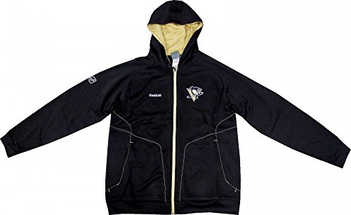 Reebok Pittsburgh Penguins Center Ice Performance Hoodie Medium -