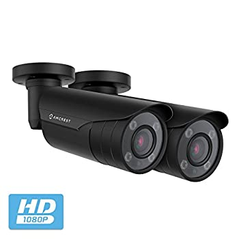 Image of 2-Pack Amcrest 4xOptical Zoom HD Bullet Outdoor Security Camera (Quadbrid 4-in-1 HD-CVI/TVI/AHD/Analog), 2MP 1920x1080P, 164ft NightVision, Motorized Varifocal Lens 40°-90°, (2PACK-AF-2MBC-VARIB)