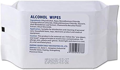Jouets Produits Personnels Baihua 120 Lingettes D/ésinfectantes Antibact/ériennes Lingettes Jetables pour Lingettes /à la Main Peuvent Essuyer les T/él/éphones Portables