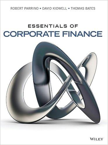 Essentials Of Corporate Finance Ebook