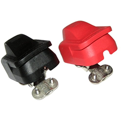 Minn Kota MK-BC-1 Battery Connectors W/Plastic Cover Marine RV Boating Accessories - Minn Kota Battery Connectors