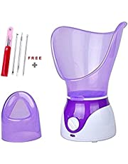 Beauty Nymph Spa Home Facial Steamer Sauna Pores with Timer and Extract Blackheads, Rejuvenate and Hydrate Your Skin for Youthful Complexion- Face Steaming Skincare Deep Cleanse SPA