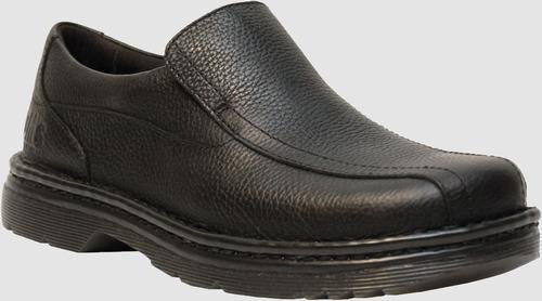 Dr Martens Slip On (Dr. Martens Men's Norfolk Work Boot,Black Bear Track,11 UK/12 M US)