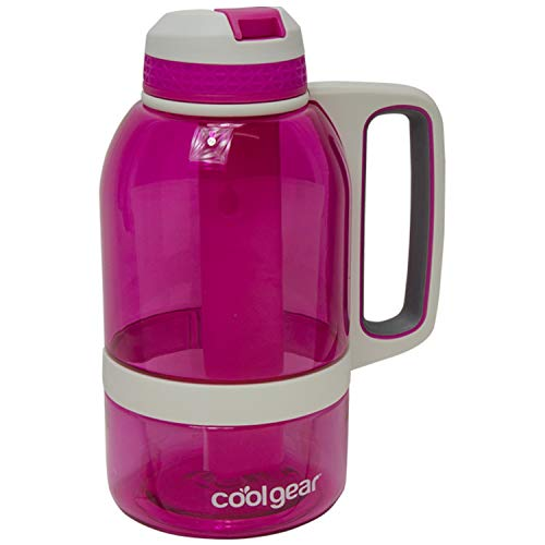 COOL GEAR 64oz System Water Bottle with Freezer Stick and Handle