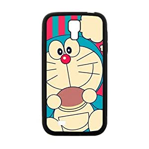 Personalized Clear Phone Case For Samsung Galaxy S4,cute lovely doraemo