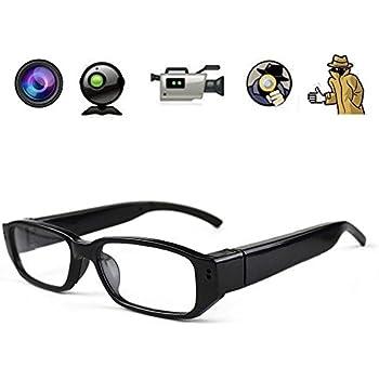 Amazon.com : Spy Camera Glasses Hidden Full HD 1080P 8G Eyeglasses ...
