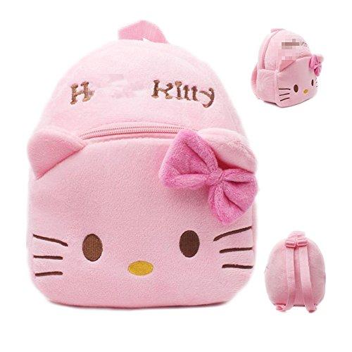 Letshopping Kids Cute Short Plush Backpack