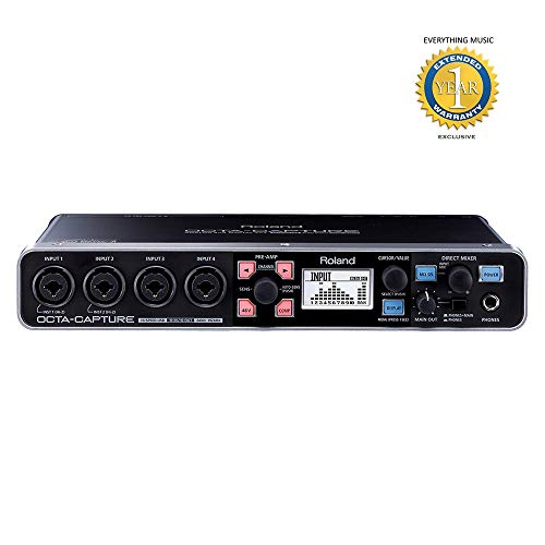 Roland OCTA-CAPTURE UA-1010 High Speed USB Audio Interface with 1 Year EverythingMusic Extended Warranty Free