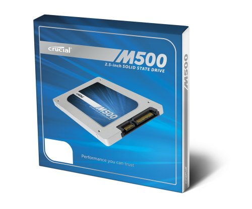[OLD MODEL] Crucial M500 120GB SATA 2.5-Inch 7mm (with 9.5mm adapter) Internal Solid State Drive CT120M500SSD1