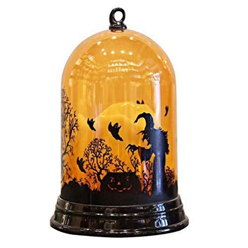 BERTERI Halloween Pumpkin Light Witch Light Bar KTV