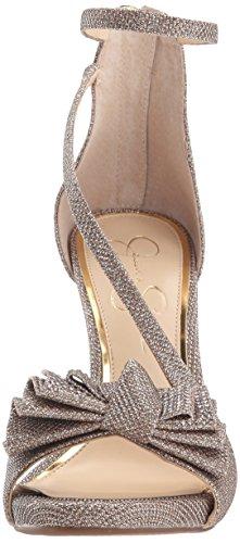 Jessica Simpson Womens Remyia2 Pump Glitter Oro