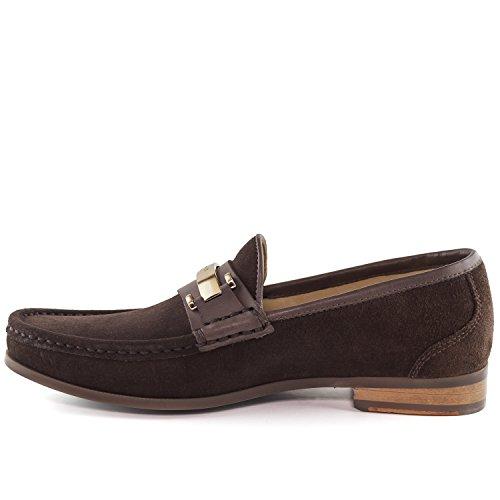 Suede Brazil In Brown Marc Joseph Fashion Mens Metropolitan New Loafer York Made qXXTPga