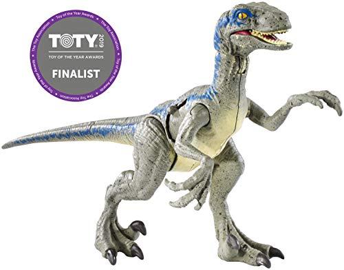 (Jurassic World Battle Damage Velociraptor