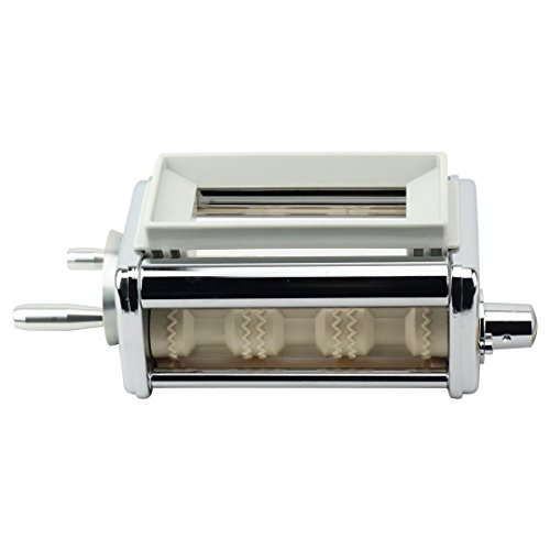 Ravioli Maker Attachment - Felji KRAV Ravioli Maker and Cutter Attachment for KitchenAid Stand Mixers