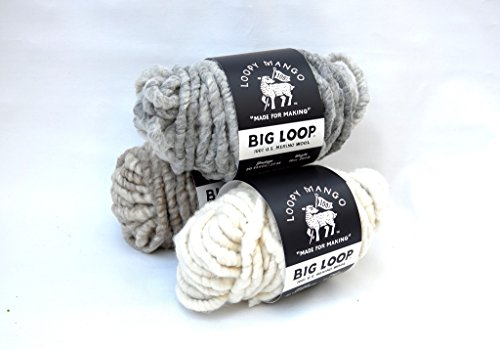 Big Loop Mini Merino Wool - Ivory - 13 oz