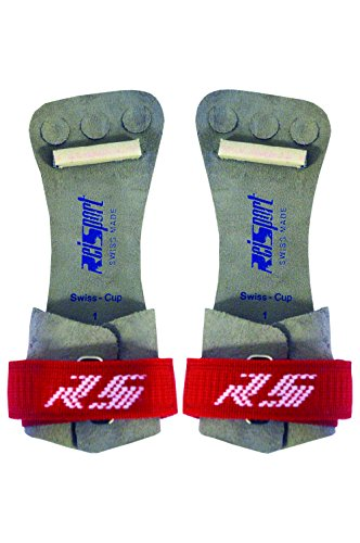 Reisport Men's Hook and Loop High Bar Grips