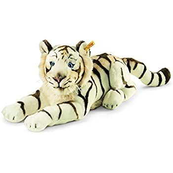 Steiff Bharat The White Tiger Striped White 18