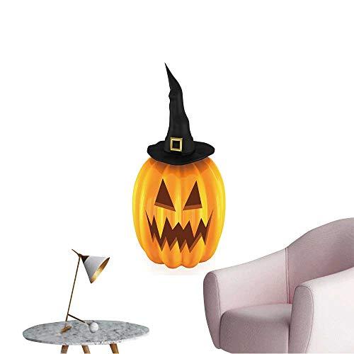 Wall Stickers for Living Room Halloween Pumpkin Vinyl Wall Stickers Print,24