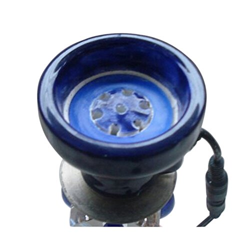 SOGNIMIEI Hleeduo Electronic Ceramic Hookah Shisha Bowl for Hookah in Big Size (Best Electronic Hookah Bowl)