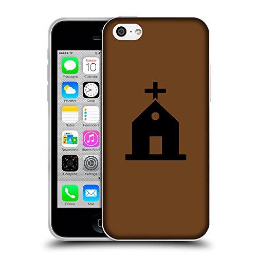 GoGoMobile Coque de Protection TPU Silicone Case pour // Q08460633 Religion 10 Sépia // Apple iPhone 5C