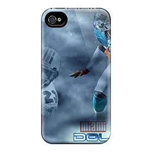 For Iphone 4/4s Tpu Phone Case Cover(nfl Player Ronnie Brown)