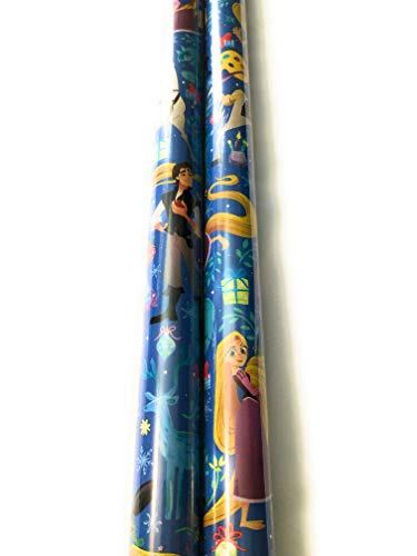 Tangled Rapunzel Holiday Gift Wrapping Paper Disney 20 sq ft -
