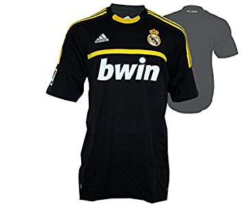 223e19d7f2d Image Unavailable. Image not available for. Colour  adidas REAL A GK JSY Black  Yellow Men Football Jersey Real Madrid Goalkeeper