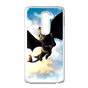Black bat and man Cell Phone Case for LG G2