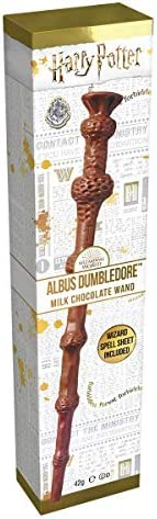 Jelly Belly Harry Potter Dumbldedore Varita, Chocolate, 42 Gramos
