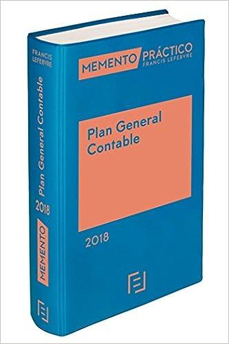 Memento Plan General Contable 2018 por Lefebvre-el Derecho epub