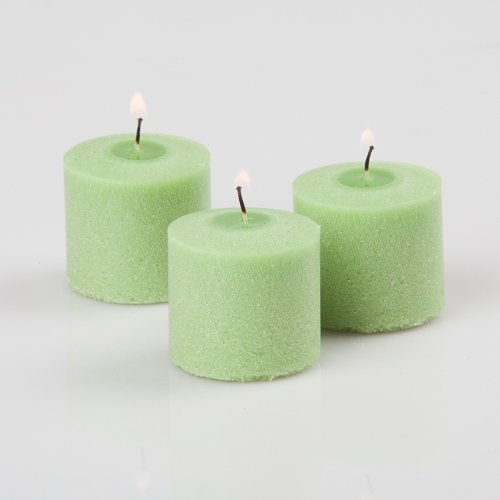 Richland Votive Candles Green Vanilla Lime Scented 10 Hour Burn Set of 72