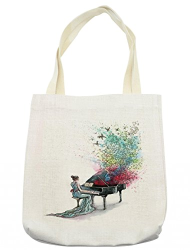 Lunarable Music Tote Bag