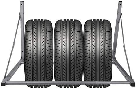 Krispich Reifenhalter Wandhalterung Klappbar Wandmontage Felgenhalter Reifenwandhalter Felgenständer Reifenständer für Lagerung von Reifen