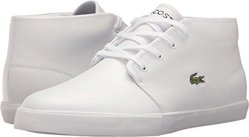Lacoste  Men's Asparta 317 US White/White Shoe Lacoste White Shoes
