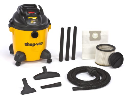 (Shop-Vac 9650800 3.5-Peak HP Pro Series Wet or Dry Vacuum with Detachable Blower,)