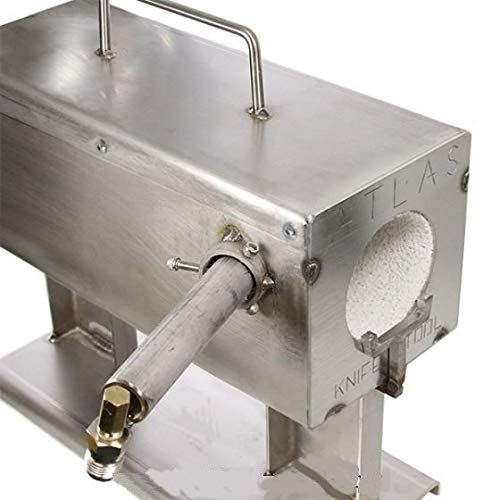 Atlas Mini Forge Stainless Knifemaker Forge with burner by Atlas Knife & Tool (Image #2)