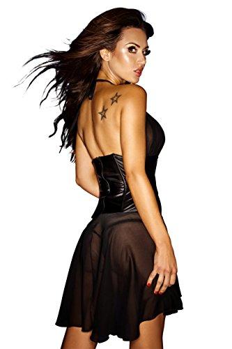 Negro Mujer Noir Para Handmade Vestido BaUAn