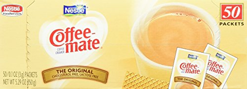Coffee-mate Powdered Creamer Singles - Original - 3 g - 50 ct Coffee Mate Creamer Packets