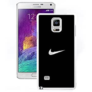 Durable Phone Case Nike Logo Just Do It Minimal Illustration Galaxy Note 4 Wallpaper in White