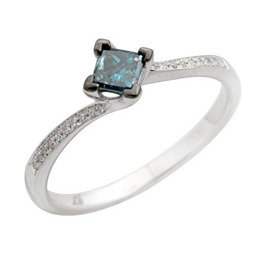 0.39 Ct Princess Diamond - 2