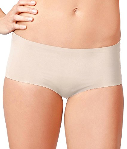 Knix Wear Women's Fitknix Air Athletic Moisture Wicking Boyshort, Nude, Small