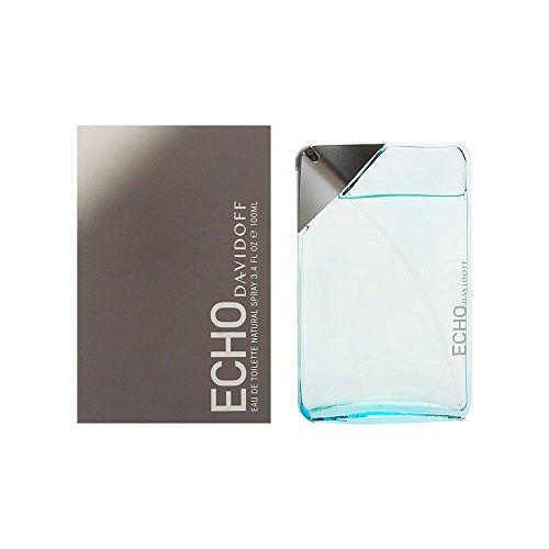 Davidoff Echo Eau de Toilette Splash For Men, 3.4 Ounce ()