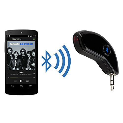 BoxWave BlueBridge LG KS10 Wireless Bluetooth Car Stereo Audio Adapter/Receiver (3.5mm Aux Input Jack) for Hands Free Music Streaming or Calling for All Apple, Samsung, Android Smartphones, Tablets, MP3 Players and More!