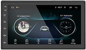 Liehuzhekeji Android Car Double Din Fm Radio Universal Elektronik