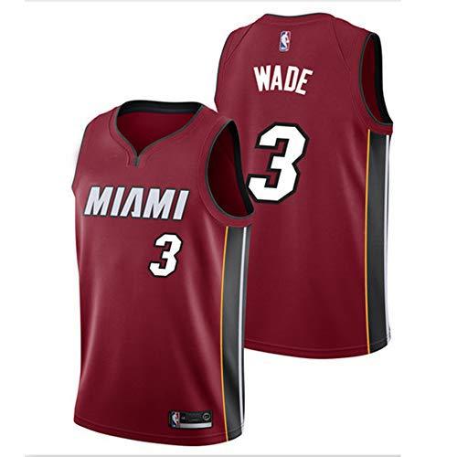 TL LT Jersey De Baloncesto De La NBA # 3 / Wade 2019 ...